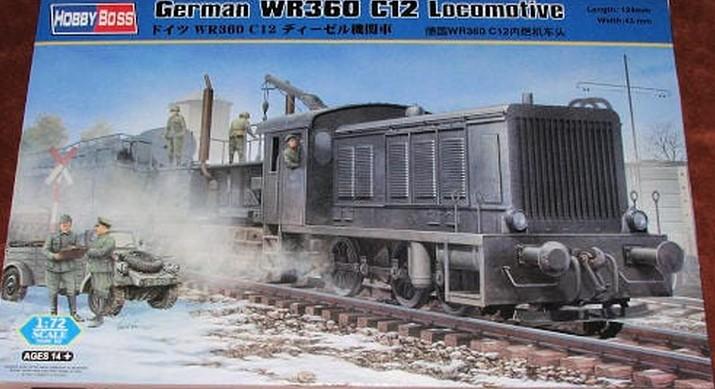 """Von Hobby Boss die """"German-WR360-C-12"""" Rangierlokomotive, die wir Modellbahner als Baureihe V36 kennen und schätzen. (#3)"""