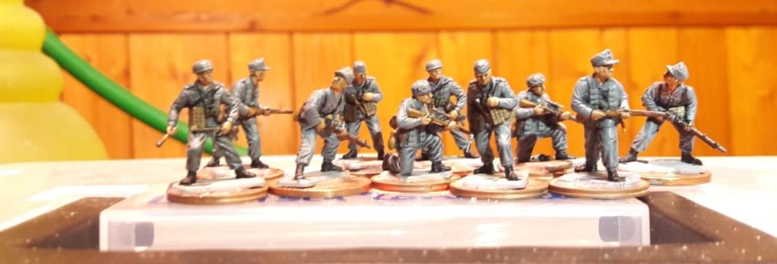 Erste Kämpfer der fränkischen Luftwaffen Felddivision. (#1)