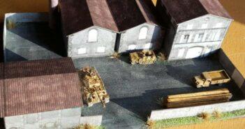 Papier + Karton: Gebäude + Häuser kostenlos downloaden und ausschneiden