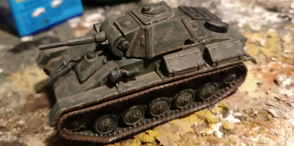 Ein anderer T-70 vom StoI. Die Lackabplatzer haben es mir angetan.