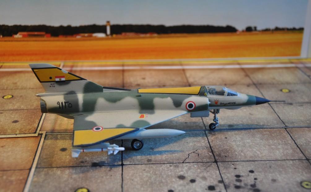 Eigentlich handelte es sich bei den ägyptischen Mirage 5SDE um Mirage IIIE-Kampfflugzeuge. Die Neubenennung hatte politische Gründe.