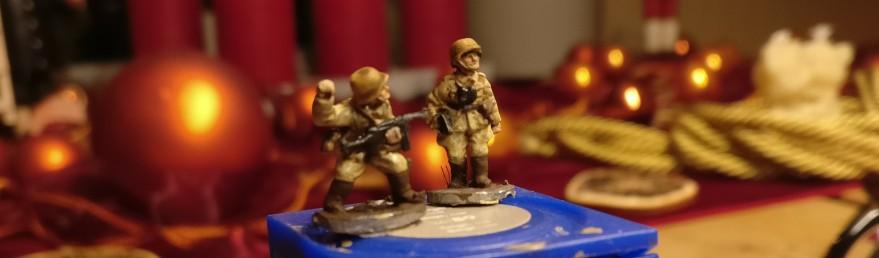 Ein NCO und Begleiter.