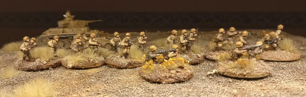 Das 1. Platoon Rifles (Panzergrendier-Regiment 104)