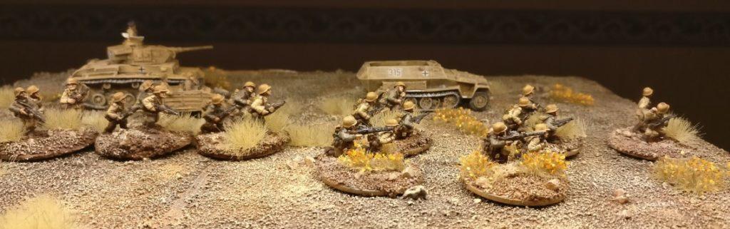 Das 2. Platoon Rifles (Panzergrendier-Regiment 104)