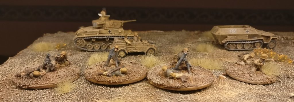 Der fertige Medium Mortar Platoon für PBI vom Panzergrenadier-Regiment 104.