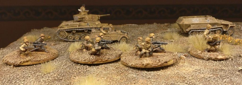 Der fertige HMG Platoon für PBI vom Panzergrenadier-Regiment 104.