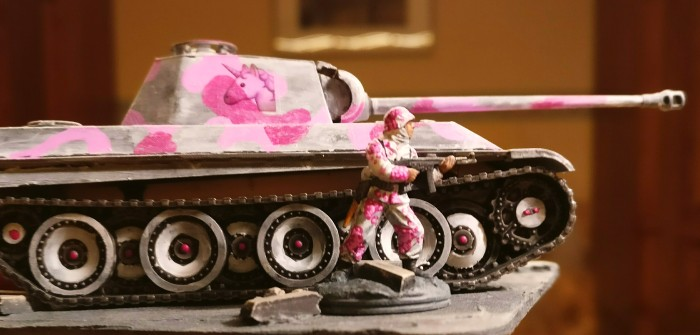 Iron Fist: 30 Pink Warriors @ Tactica