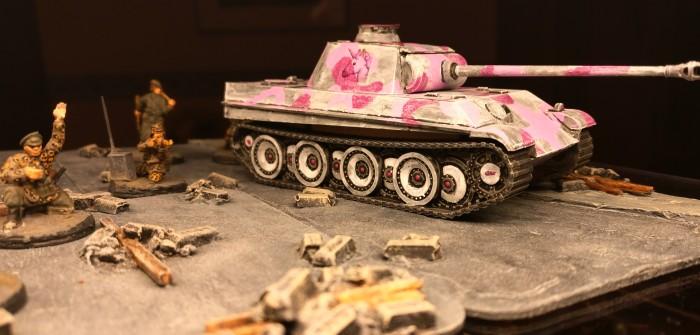 Pink Panther: die 666. Panzerdivision legt vor