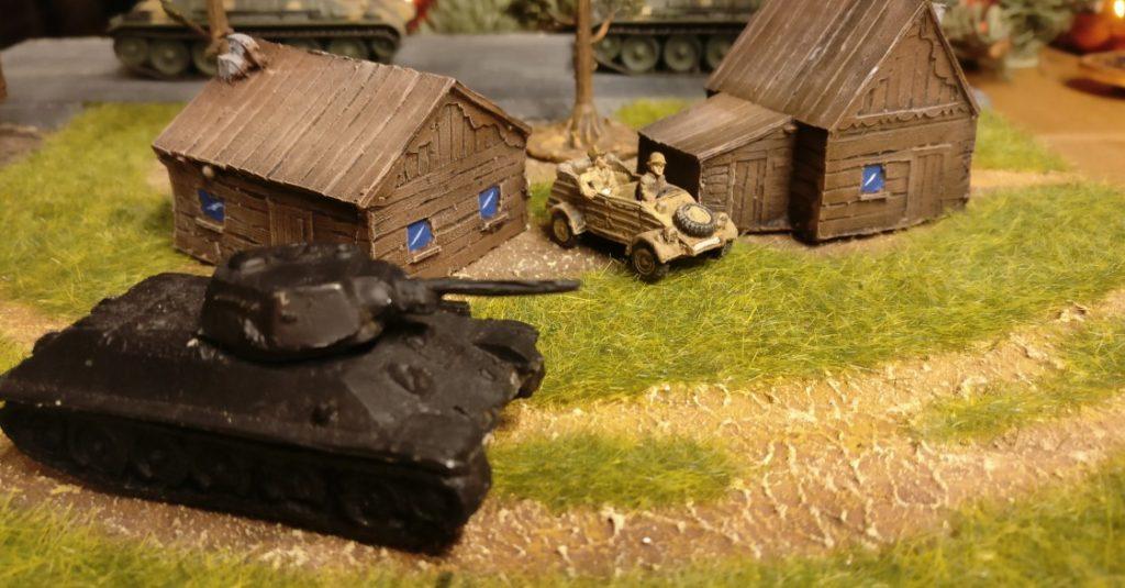 Hier ist einer der beiden T-34/76.