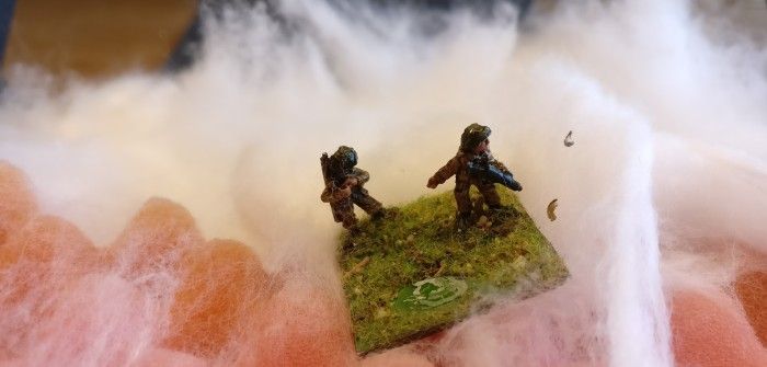 British Infantry for PBI: Sturmi Army rekrutiert