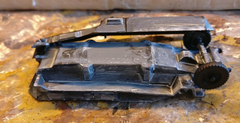 Die Lasur produziert oft unruhige Strukturen auf der Oberfläche.