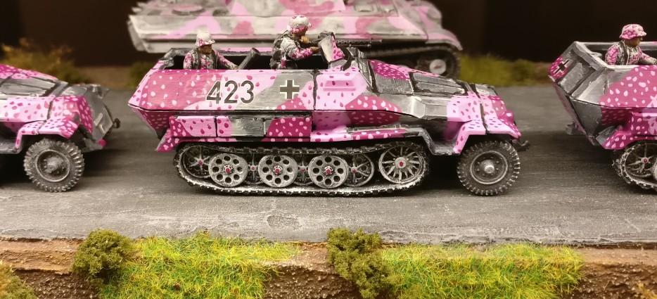 Schützenpanzerwagen Nr. 423 von der 4. Kompanie des II. Bataillons des Panzergrenadierregiments 666.