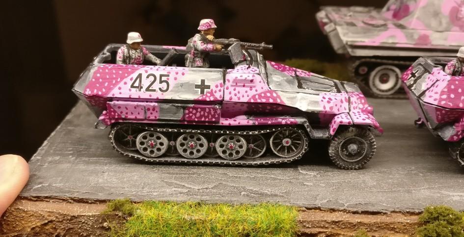 Schützenpanzerwagen Nr. 425 von der 4. Kompanie des II. Bataillons des Panzergrenadierregiments 666.
