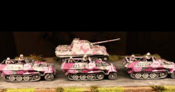 German SdKfz 251/C Halftrack WW2V20003: Schützenpanzer für die 666. Panzerdivision