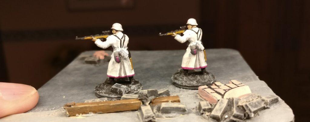 Die beiden Scharfschützen von der anderen Seite.