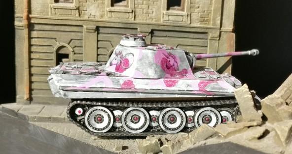 Der Pink Panther greift ein.