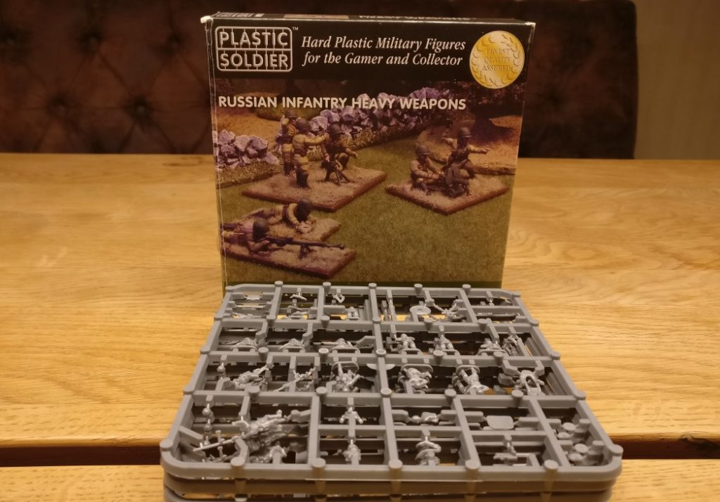 Plastic Soldier Russian Infantry Heavy Weapons (WW2015004)