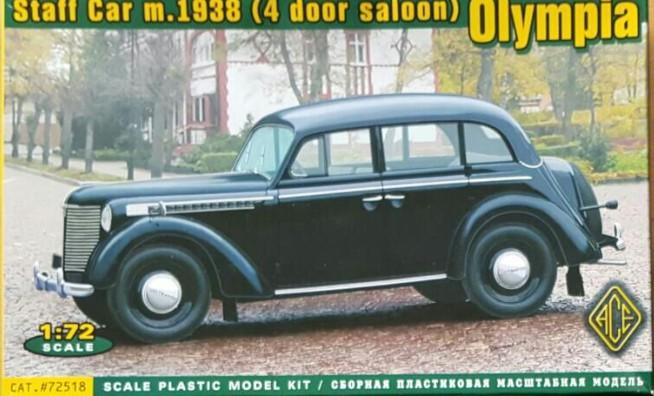 "ACE 72518 ""Olympia"", Staff Car m.1938 (4 door saloon) als Fahrzeug für Maxens Résistance."