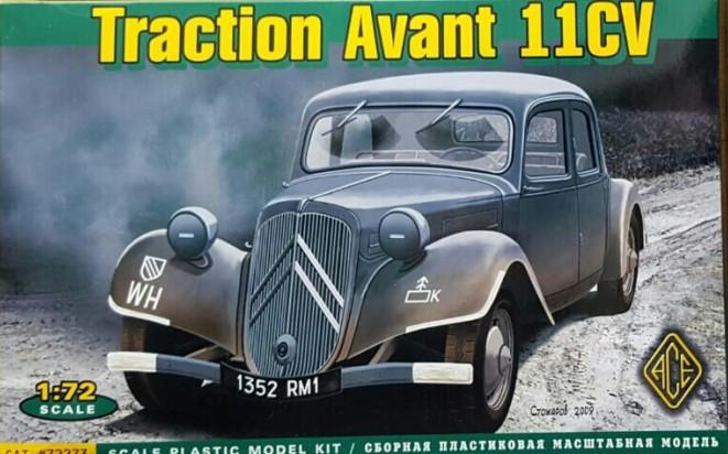 ACE 72273 Citroen Traction Avant 11 CV  als Fahrzeug für Maxens Résistance