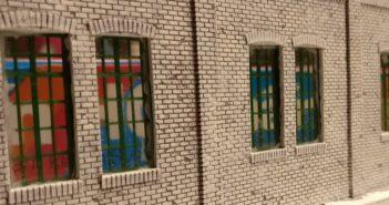 Roter Oktober #30: Bemalen der Hallenwände