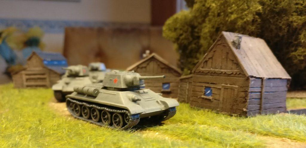 Die T-34/76 von Plastic Soldier irgendwo in den Pripjet-Sümpfen.