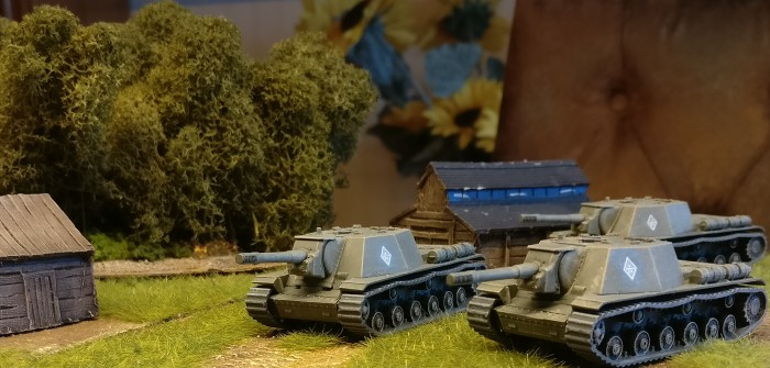 SU-152 Soviet Self Propelled Gun 1/100 (Zvezda 6182)
