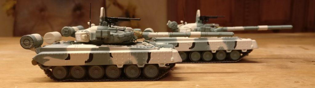 Der Atlas T-80 BV 1990 und der DeAgostini-Twin
