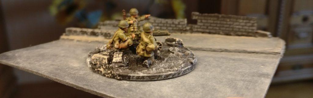 Maxim-MG-Team #1 der 10. NKWD Division von der Seite