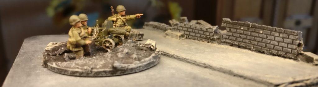 Maxim-MG-Team #1 der 10. NKWD Division von schräg vorne