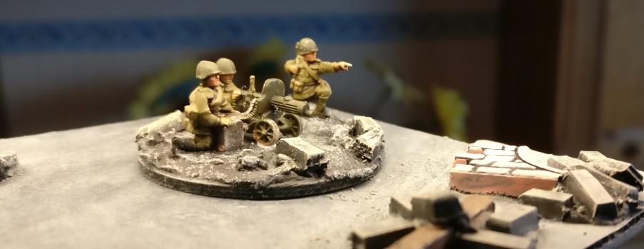 Maxim-MG-Team #2 der 10. NKWD Division von schräg vorne