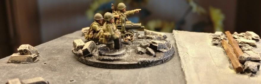 Maxim-MG-Team #3 der 10. NKWD Division von der Seite