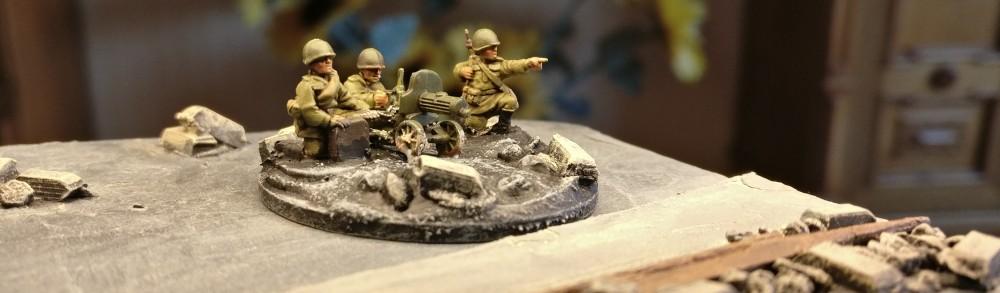 Maxim-MG-Team #3 der 10. NKWD Division von schräg vorne