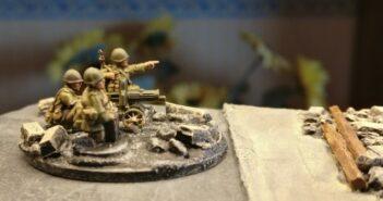 Maxim-Maschinengewehr: Power für die 10. NKWD Division