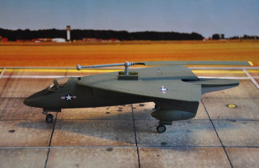 Die Sikorsky XV-2 war ein Projekt für einen schnellen Aufklärer und Transporter, der wie ein Hubschrauber starten und landen konnte.