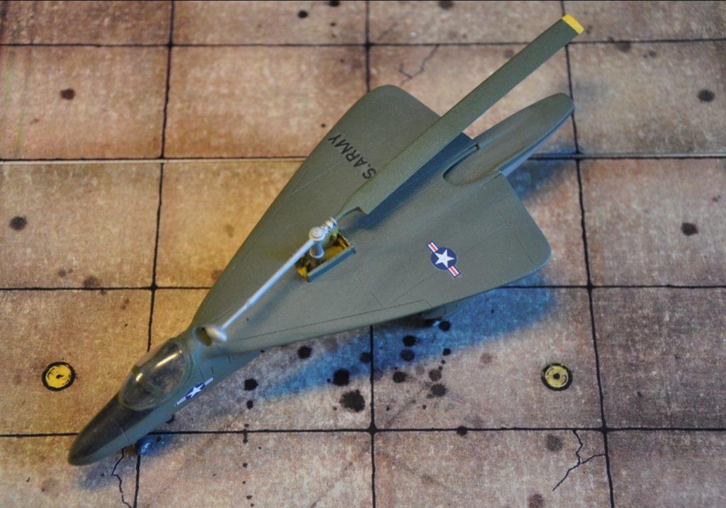 Die XV-2 ist beides – schneller Jet und Hubschrauber.