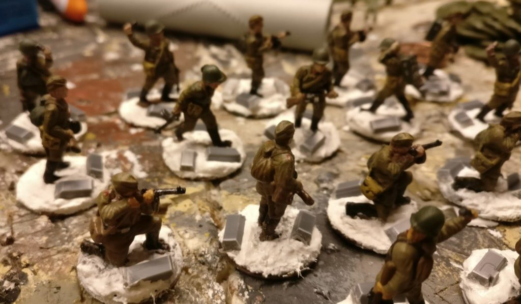 Die Russenkompanie von StoI (20mm, PSC Russian Infantry in Summer Uniform)