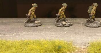 Die Spessartrussen des StoI beim271st Rifle Regiment der 10th NKVD Division.