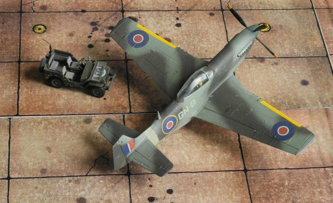 Die P-51 GN-B flog bei der Royal Australian Air Force in Italien. Australien erhielt P-51Ks aus den USA und baute weitere im eigenen Land.