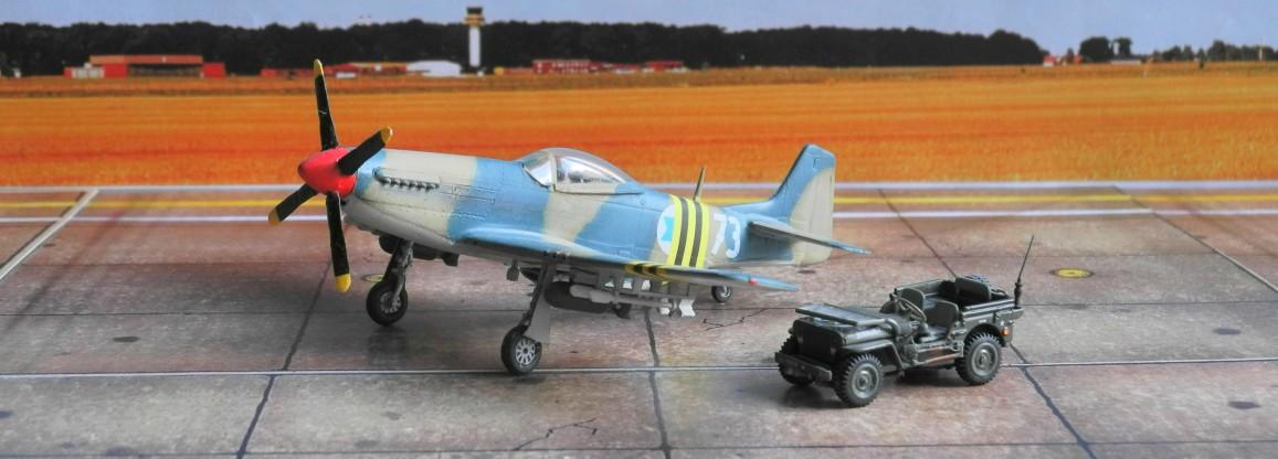 """Die israelische Luftwaffe setzte ihre P-51D """"Mustangs"""" noch 1956 im Suezkrieg als Jagdbomber ein."""