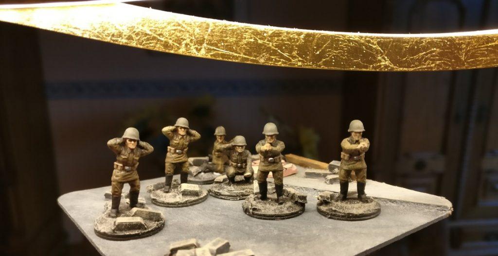 Fünf Bediener für die 10. NKWD Division. Splitter & Granaten für Shturmigrad.
