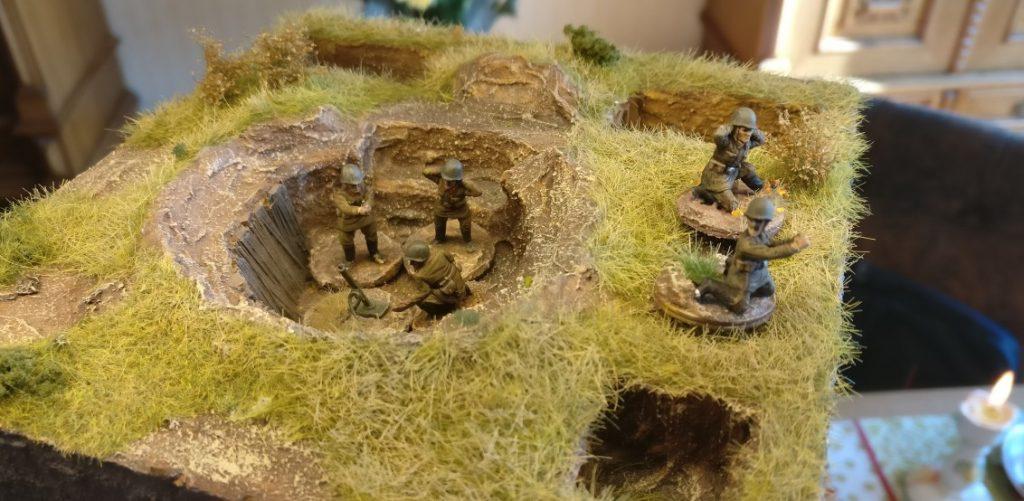 Fünf Bediener für die neue Schützen-Division. Splitter & Granaten für die Steppe