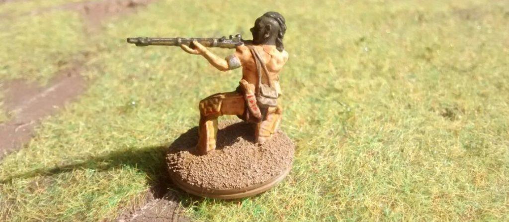 Ein weiterer der vorzeitlichen Krieger.
