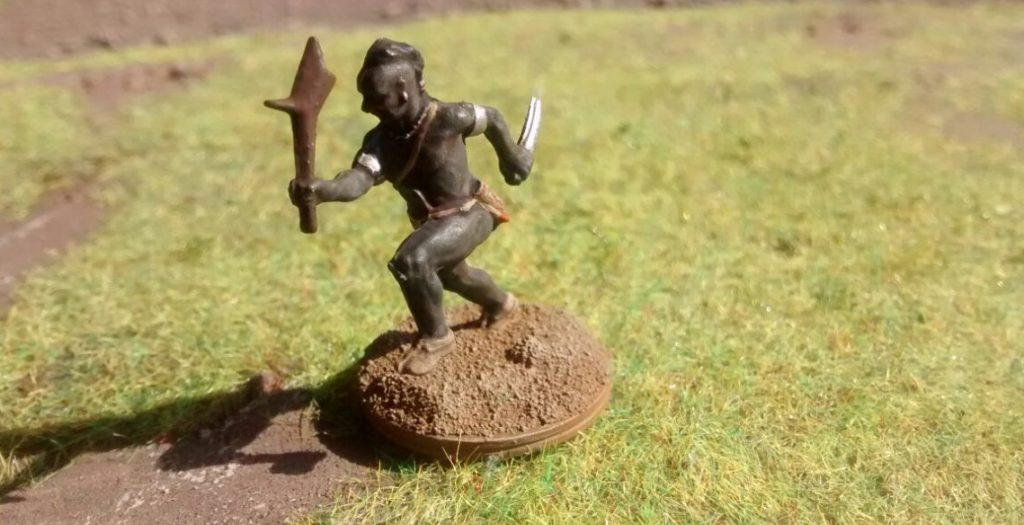 Ein Krieger aus den Spessartwäldern...