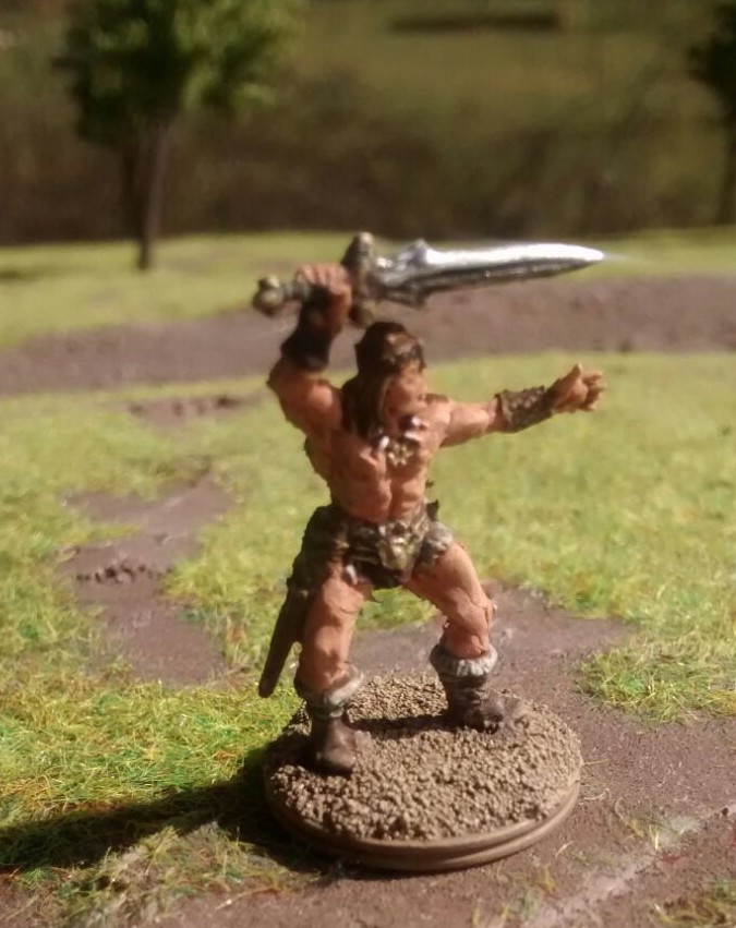 Und nochmal Conan der  Barbar himself.