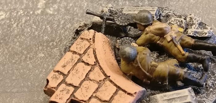 Das Dilemma mit den 20mm-MG-Schützen - Oder wie die Base für ein LMG-Team gestaltet werden könnte.