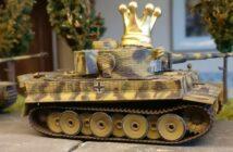Königstiger: Upgrade-Set für fünf Tiger I im Maßstab 1:72