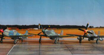 """Internationalismus im Modell: Ein Schwarm North American P-51 """"Mustang""""-Jäger"""