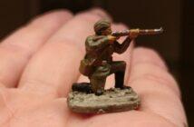 Pripjet-Sümpfe: die 42. Schützen-Division hält