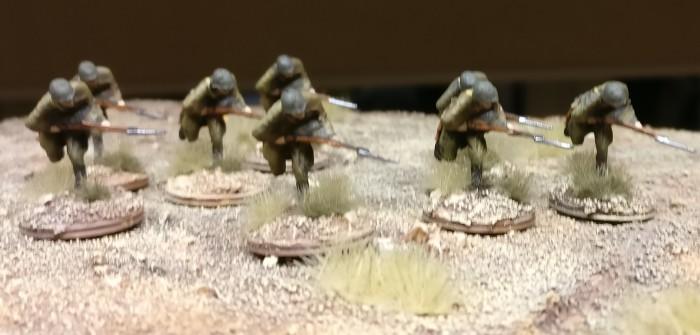 Revell Set 02510 Soviet Infantry: II. Akt