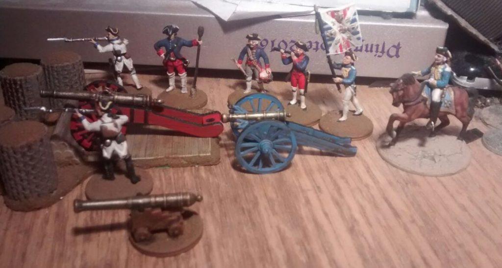 Doncolor hat einen Schlenker zum Siebenjährigen Krieg in Nordamerika gemacht. Italeri 6180 The Last Outpost - Siebenjähriger Krieg in Nordamerika